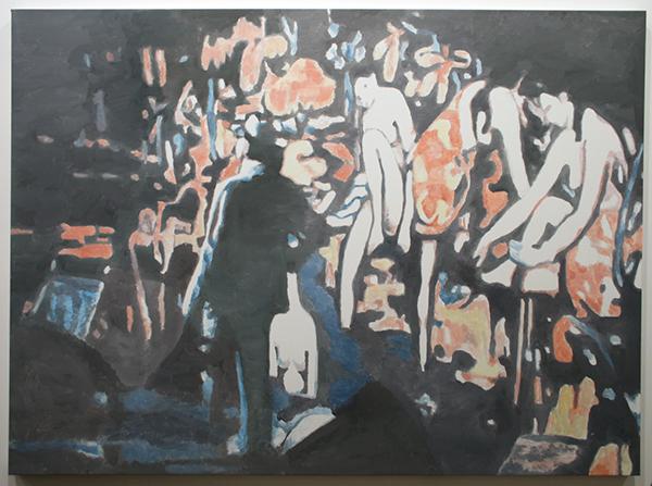 Luc Tuymans - Allo I - 134x183cm Olieverf op canvas