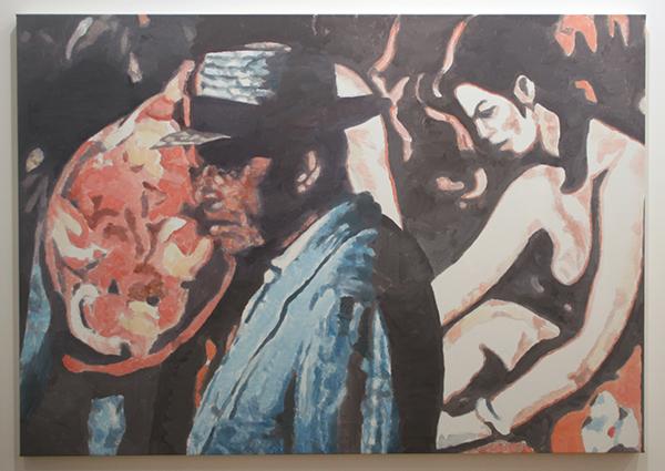 Luc Tuymans - Allo IV - 128x182cm Olieverf op canvas