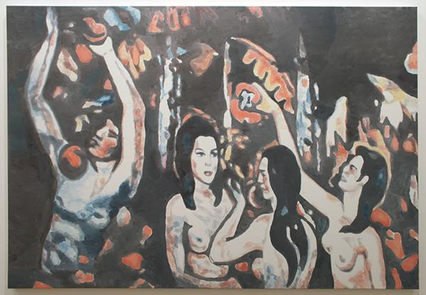 Luc Tuymans - Allo V - 128x185cm Olieverf op canvas