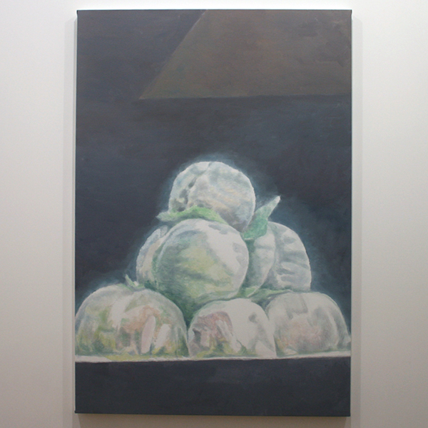 Luc Tuymans - Peaches - 174x118cm Olieverf op canvas