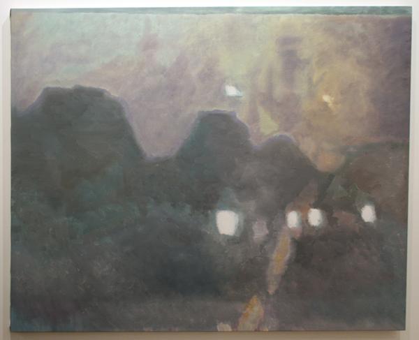 Luc Tuymans - Social Housing - 122x162cm Olieverf op canvas