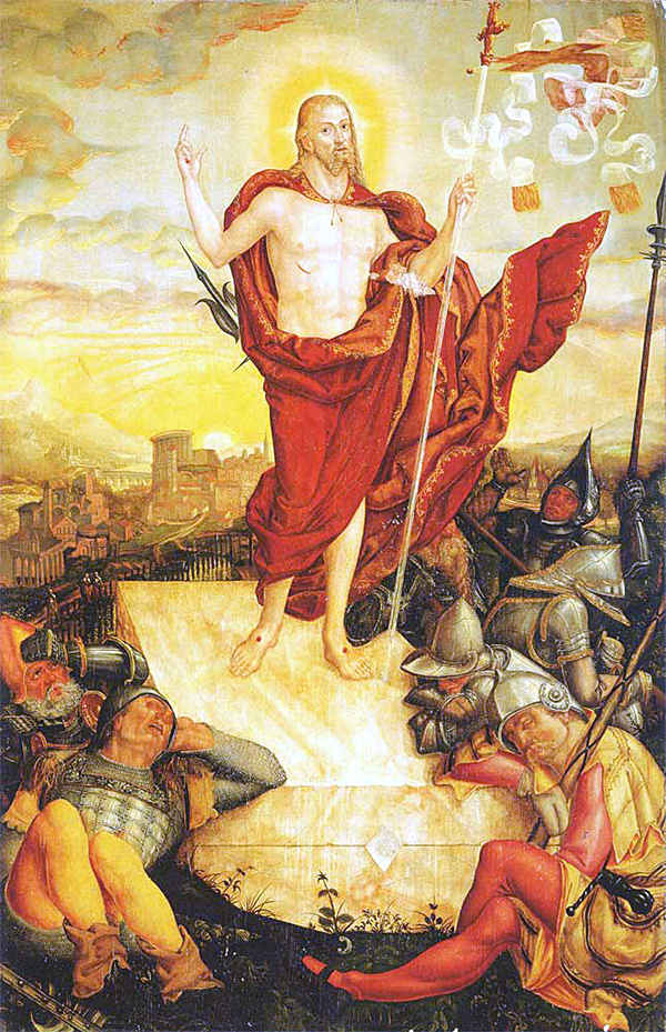 Lucas Cranach - The Resurrection of Christ