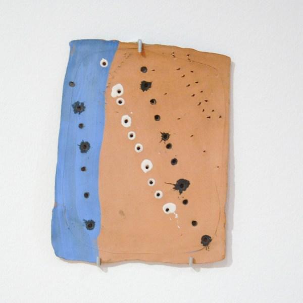 Lucio Fontana - Spatial Concept - Beschilderde aardewerk, 1954