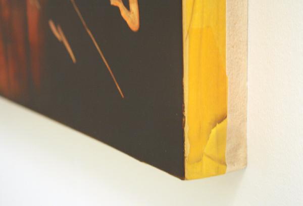 Maartje Overmars - Eternal Sunshine - 100x120cm Olieverf op MDF (detail)