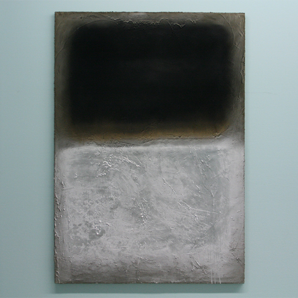 Marc Bijl - Afterburner (After Marc Rothko) - Cement, verf en spuitbus