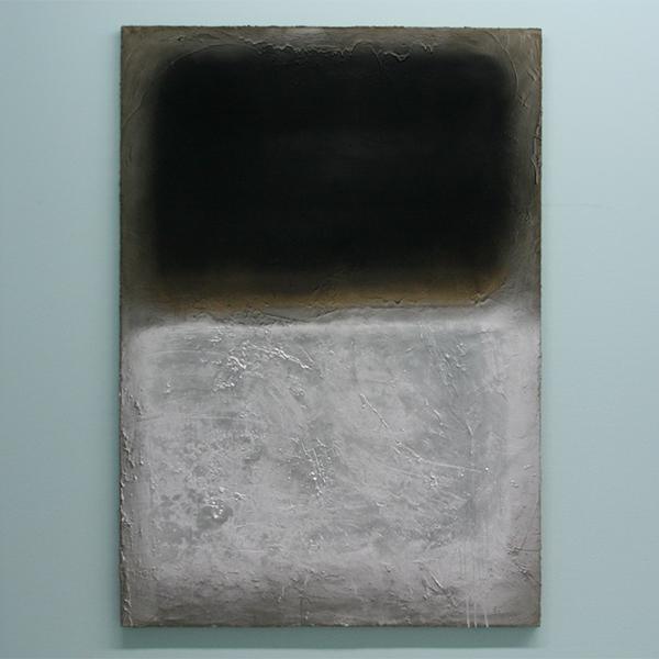 Marc Bijl - Afterburner (After Marc Rothko) - Cement, verf en spuitbus