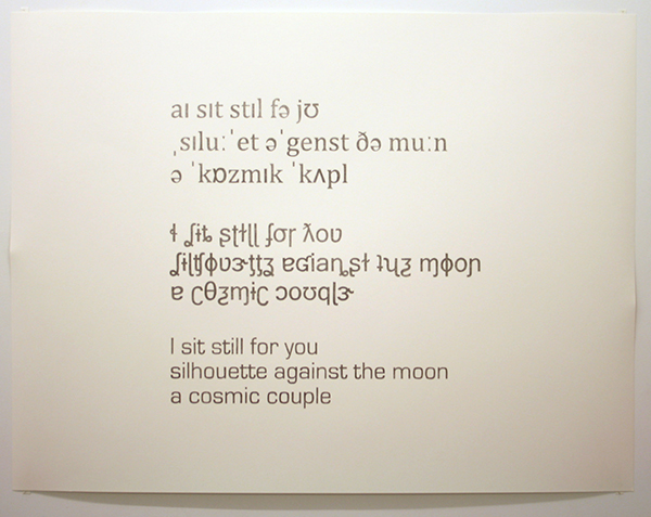 Marc Oosting - I sit still for you - 92x120cm Potlood op papier