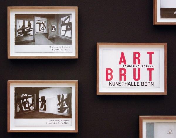 Marcel van Eeden - Sammlung Boryna - Installatie van 66 werken op papier en 2 sculpturen