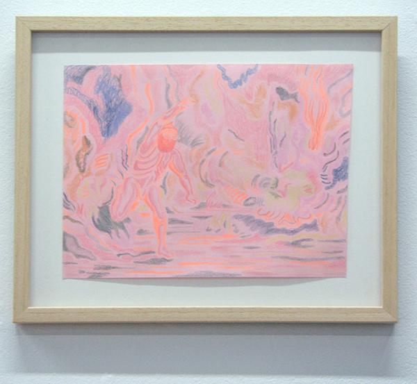 Marisa Rappard - Fiery - 21x30cm Potlood op gekleurd papier