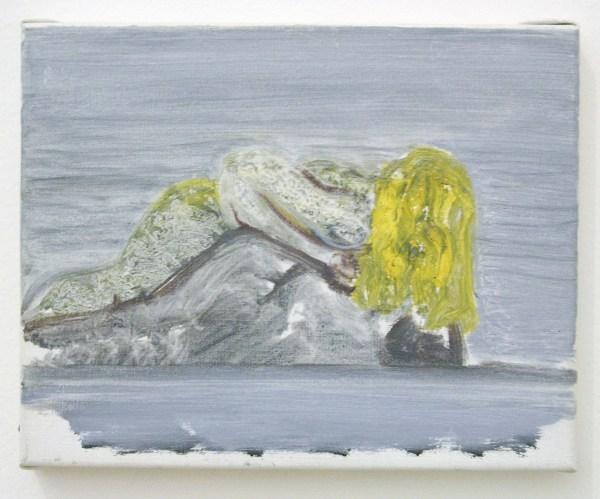 Marlene Dumas - Drunken Mermaid - Olieverf op doek, 1993