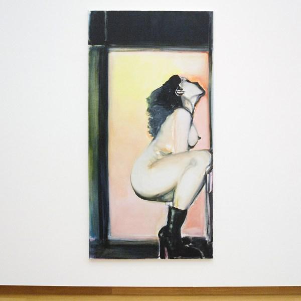 Marlene Dumas - Leather Boots - Olieverf op doek, 2000