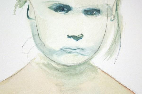 Marlene Dumas - The Painter - Olieverf op doek, 1994 (detail)