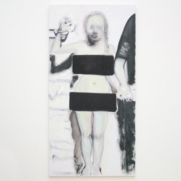 Marlene Dumas - The Woman of Algiers - Olieverf op doek, 2001