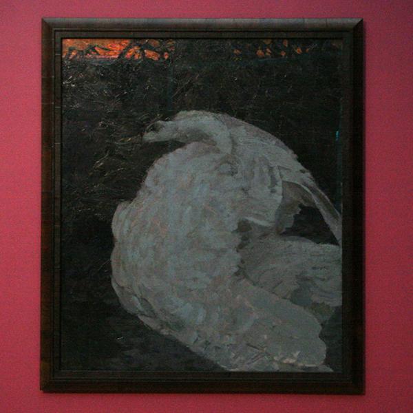 Michail Vroebel - Zwaan - Olieverf op doek 1901