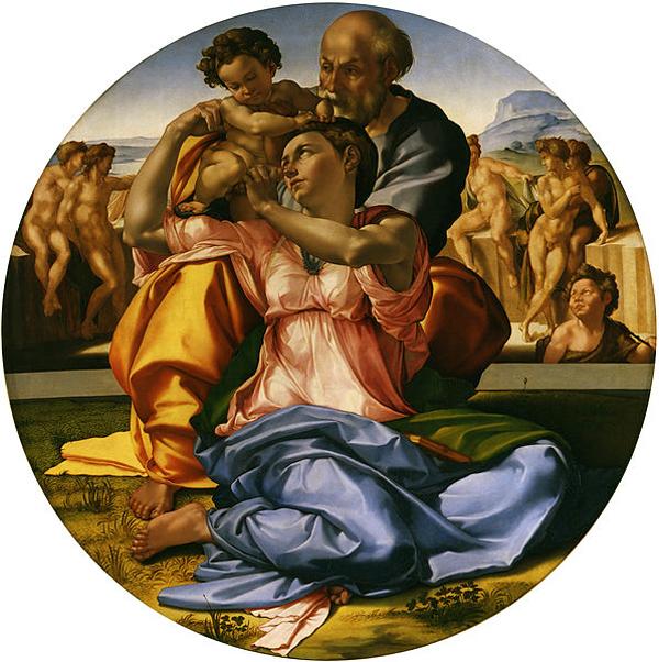 Michelangelo Buonarroti - Tondo Doni