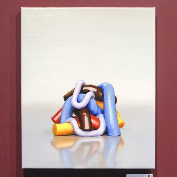 Michiel van der Zandne - Color Solid 2 - Olieverf op doek €1200,-