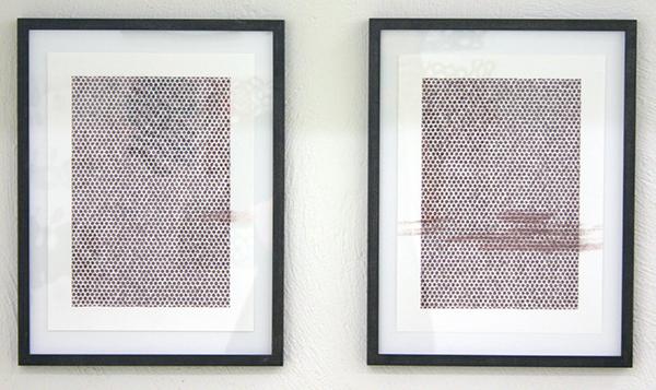 Mieke Fokkinga - Zwaluw - 34x26cm Contepotlood op papier