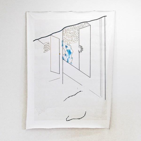 Miyeon Lee - Blown Up Drawing (In Search of a Subject Matter)