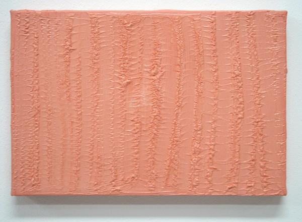 Moran Fisher - Wild Flower - 30x15cm Mixed media op katoen