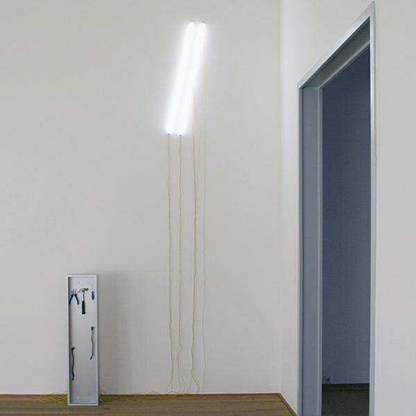 Navid Nuur - Tentacle Thought N 8 (Double Slash) - Aangepaste lichtbakken, kabels en gereedschap 2006-2008