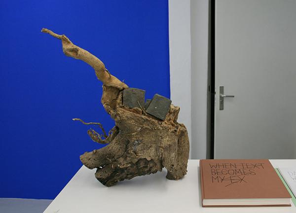 Navid Nuur - Untitled - 50x45x24cm Boomstronk en 3 stenen