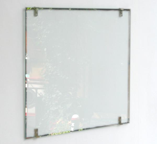 Navid Nuur - Untitled - Schoon geschraapte spiegel