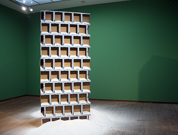 Navid Nuur - Untitled - Waspoeder 2010-2013