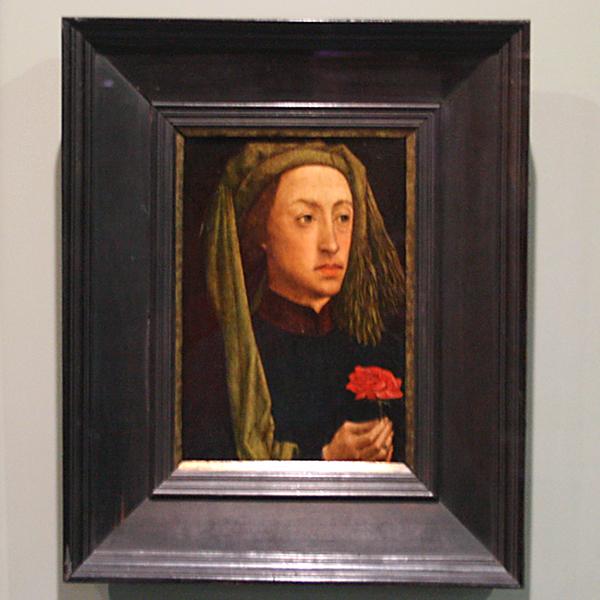 Nederlanden - Portret van een jongeman - Paneel