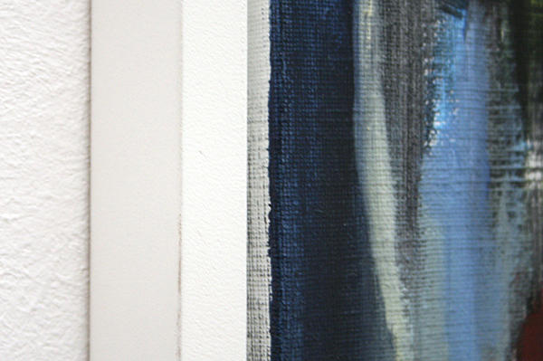 Nick Andrews - Wrong Place, Right Night - 125x65cm Acrylverf en Olieverf op doek, 2012 (detail)