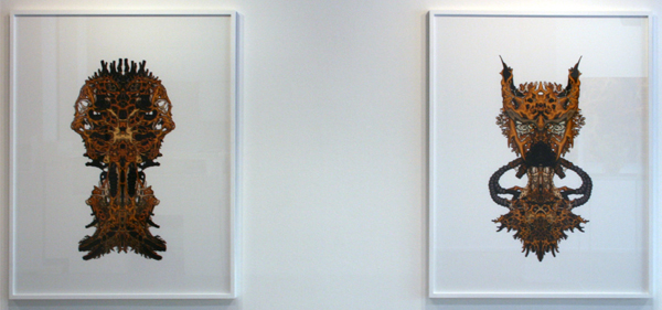 Nick Ervinck - Uarkiorz & Lekzaorz - 155x120cm Prints