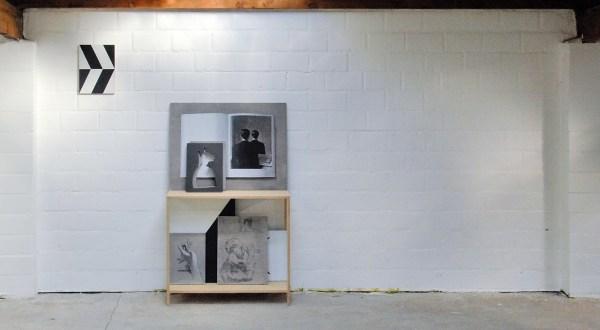 Niek Hendrix - Ninety Nine - 38x28cm Olieverf op paneel & Cabinet (No Copy) - 150x90x38cm Olieverf en potlood op paneel in kabinet