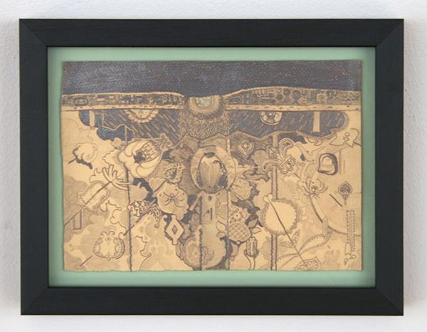 Niels Broszat - Kazuifel #1 - 21x15cm Potlood op papier