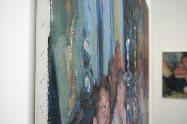 Niels Smits van Burgst - It Is All Too Beautifull - 140x200cm Olieverf op canvas (detail)
