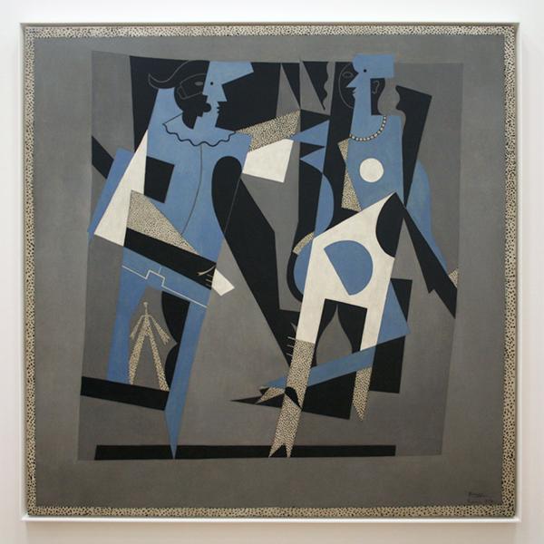 Pablo Picasso - Arlequin et femme au collier