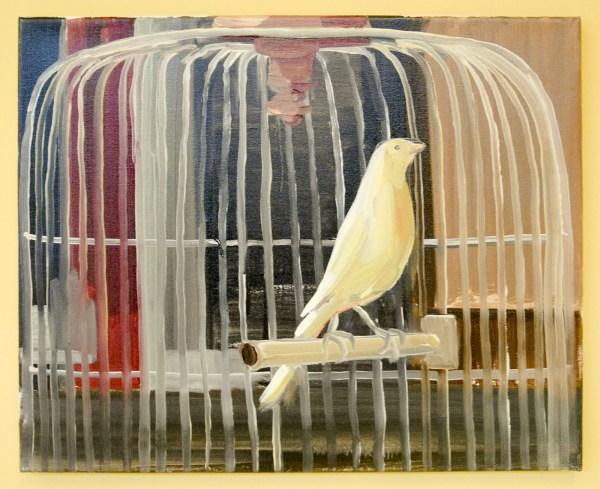 Partricia Spoelder - Bird - Olieverf op linnen (€1,250,-)