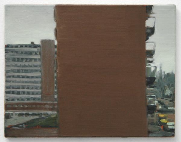 Patricia Spoelder - Flat - 35x45cm Olieverf op linnen