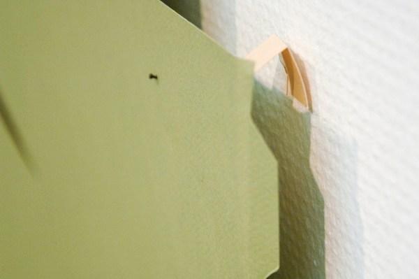 Paul Drissen - Vlak Hoek Hoek Gat - 43x52x5cm Papier (detail)