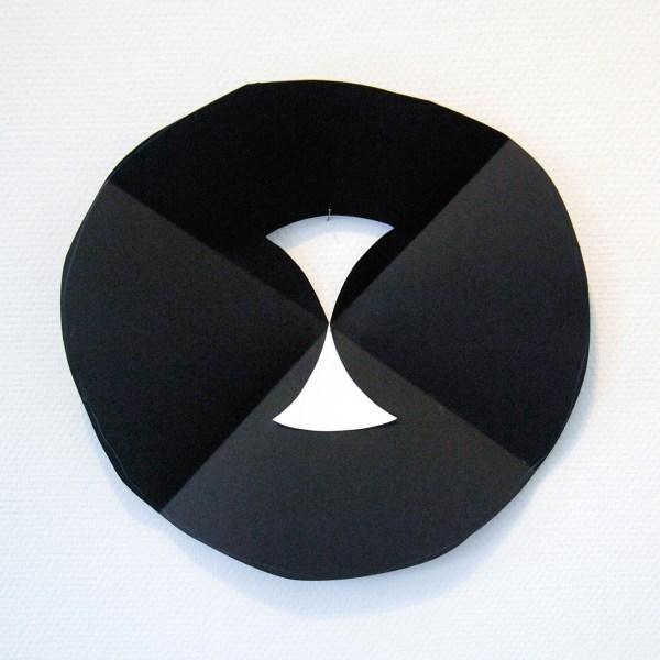 Paul Drissen - Vlak Rond Vouw - 38x39x6cm Papier