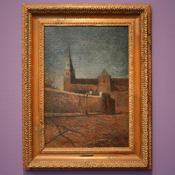 Paul Gauguin - L'eglise de Vaugirard - Olieverf op doek