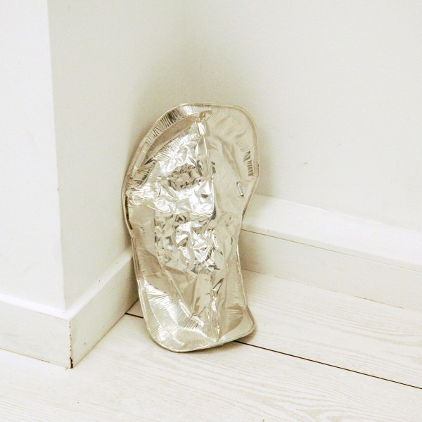 Paul Geelen - Untitled (Mask) - Aluminium plaat