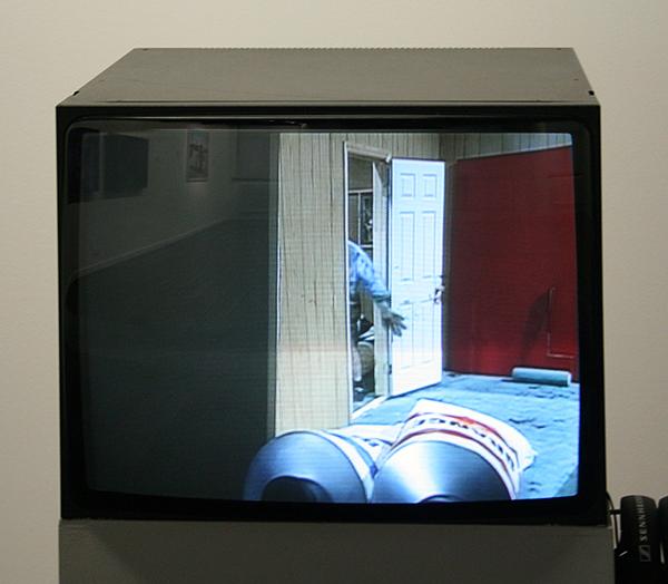 Paul McCarthy - Painter - 50,05minuten Single Screen video met geluid 1995