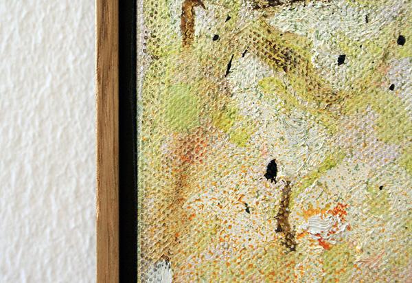 Peter Doig - Red House - 200x250cm Olieverf op doek (detail)