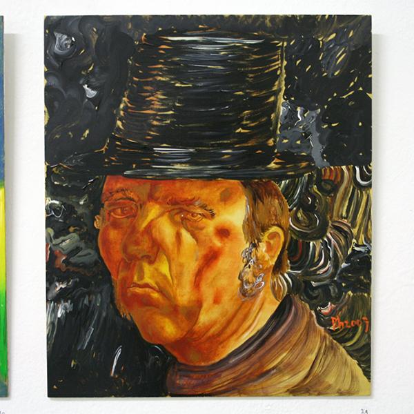 Philip Akkerman - #49 - 40x34cm Olieverf op paneel