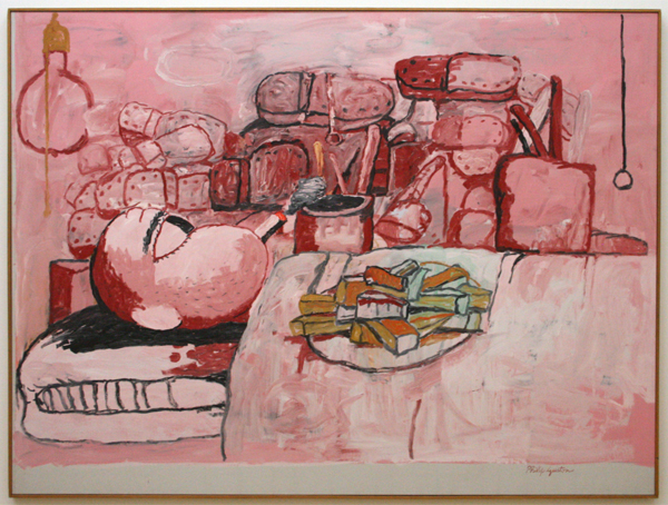Philip Guston - Painting, Smoking, Eating - Acrylverf op doek