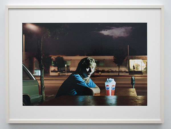 Philip-Lorca diCorcia - Hustlers (Brent Booth, 21 years old, Des Moines, Lowa $30) - Chromogene druk op Dibond