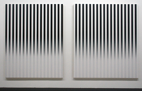 Philippe Decrauzat - Slow Motion - Acrylverf op doek