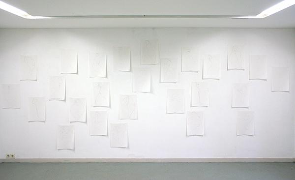 Piet Dirkx - Zonder Titel (?) - 28 tekeningen op papier