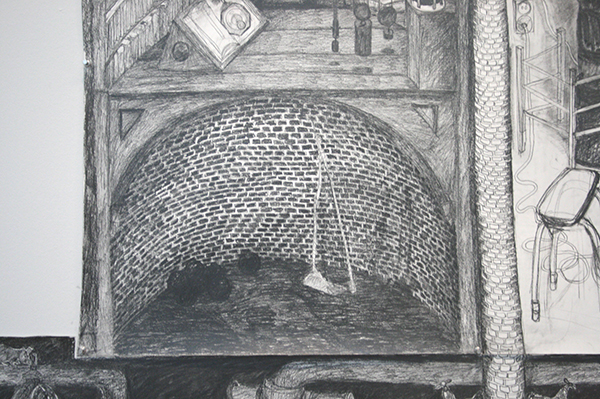 Pietsjanke Fokkema - Ondergrondse revolutie (detail)