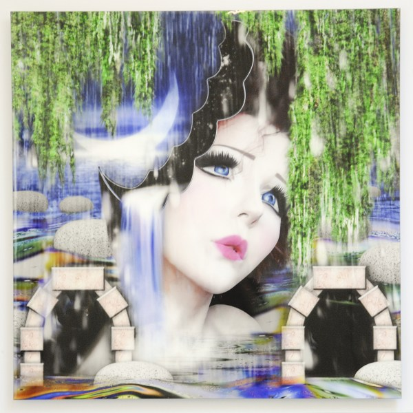 Pinar & Viola - I'll make you feel Real (Swamp) - 85x85cm Inkjet op liquid gloss
