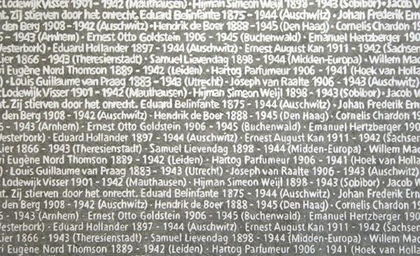 Rachel Bacon - Memorial 1940-1945 - Tekening op papier (detail)